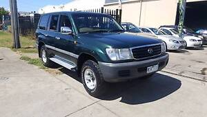 1998 Toyota Landcruiser GXL 100 Series Wagon AUTO DUEL FUEL Williamstown North Hobsons Bay Area Preview