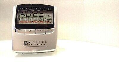 Oregon Scientific Self-Setting Radio Controlled Travel Alarm Clock RM826