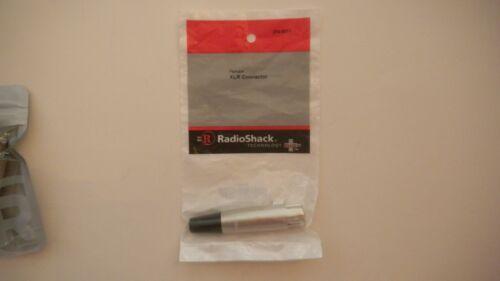 RadioShack 3-Pin Female XLR Inline Jack  274-0011 - NIP