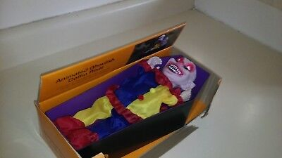 Halloween prop ANIMATED KILLER CLOWN COFFIN RISER. LIGHTS, SOUNDS, ANIMATES.  - Halloween Clown Sounds
