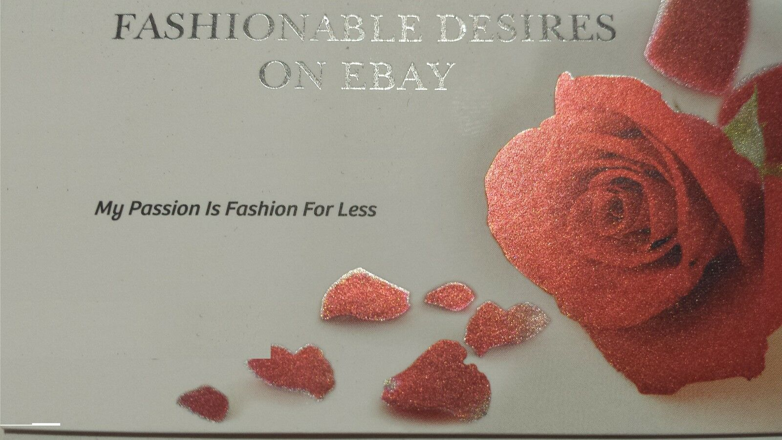 FASHIONABLE DESIRES