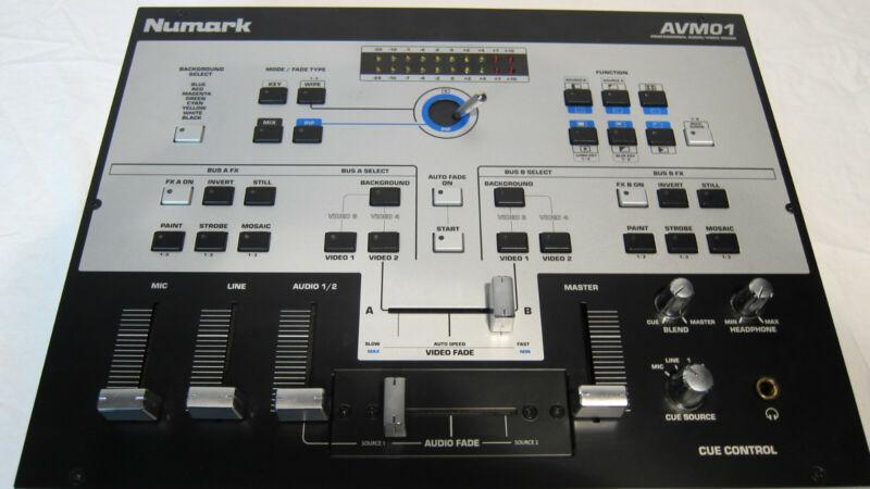 RARE! Numark Videomixer Audio VIDEO Mixer AVM01 PIP EXCELLENT WORKING CONDITION!