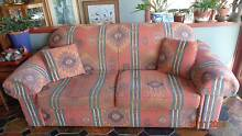 Aztec design 3 Seater Fabric Sofa Good Quality Unanderra Wollongong Area Preview