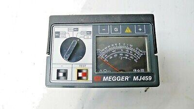 Avo Megger Mj459 Hand Crank Insulation Continuity Tester