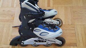 Women's Salomon high end rollerblades