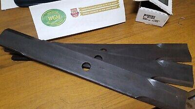 GENUINE JOHN DEERE BLADE SET M113878  (3 Blades)