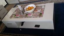 Excellent condition white gloss coffee table chest drawer tv unit Mount Pritchard Fairfield Area Preview