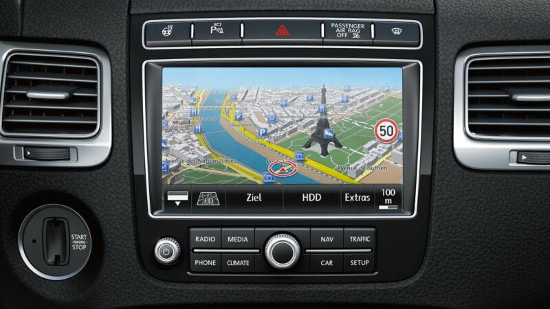 V13 VW Volkswagen TOUAREG RNS850 RNS 850 MAP UPDATE 2019-2020 VERSION