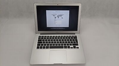 "Apple MacBook Air 2017 A1466, Intel i5 1.8GHz 128GB SSD 8GB 13.3"" Silver Working"