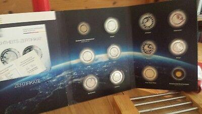 Erde Sammlung (Münzalbum Blauer Planet Erde Sammlung incl. der seltenen Goldmünze.)