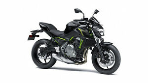 2018 Kawasaki Z650 ABS Extra 1 Yr KPP Warranty $600 Value Last O