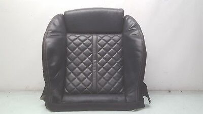 2013 2014 2015 AUDI S7 FRONT LEFT DRIVER BOTTOM SEAT CUSHION / SKIN - BLACK