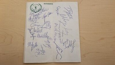 Amiable Dale Earnhardt Sr Handout Postcard Card Autographed 3 Gm Goodwrench Service Plus Good Taste Sports Mem, Cards & Fan Shop