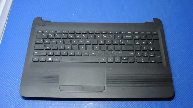 "HP 15-ba009dx 15.6/"" Genuine Laptop Palmrest w//Touchpad Keyboard AP1O2000500"