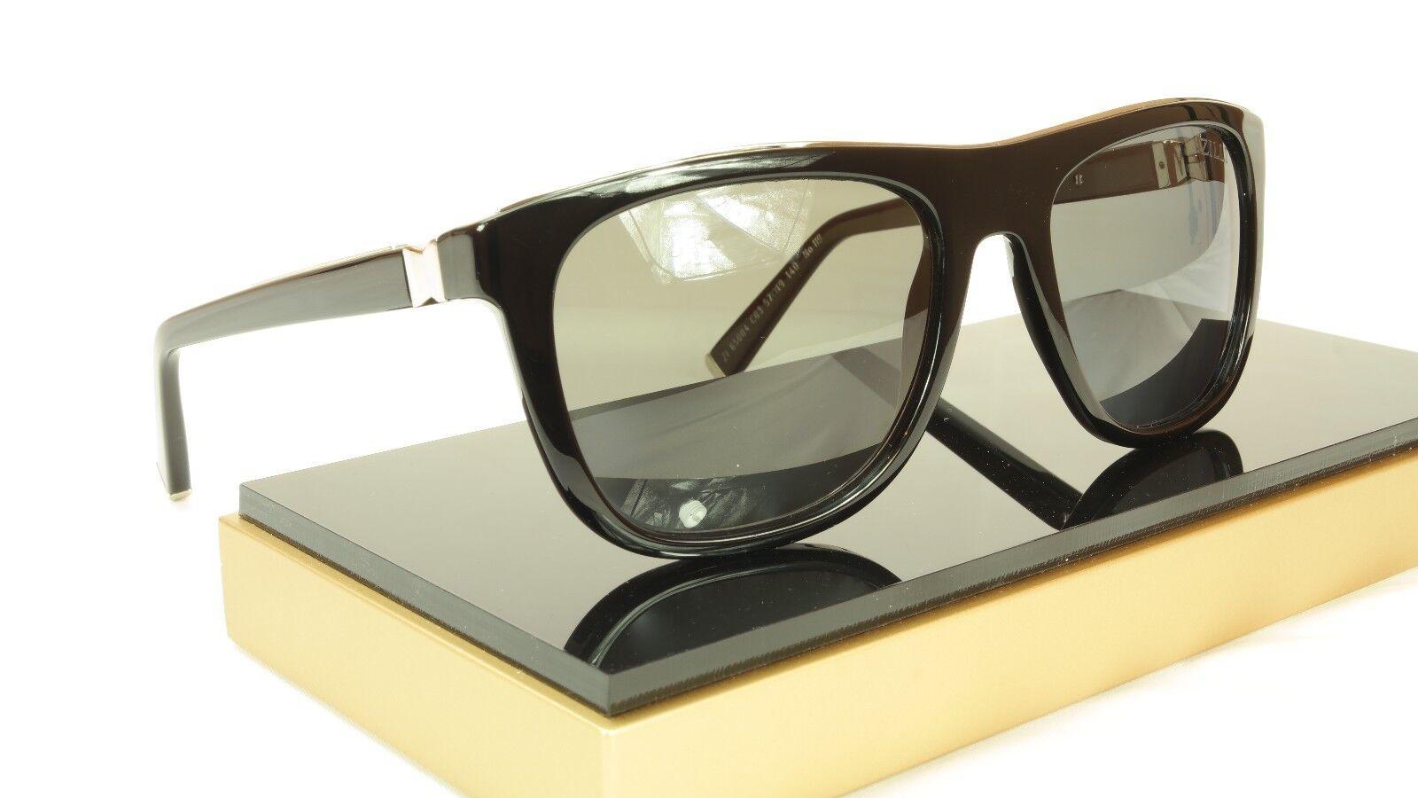 7873b103fe9 ... ZILLI Sunglasses Polarized Black Hand Made Acetate Titanium France ZI  65004 C03 фото ...
