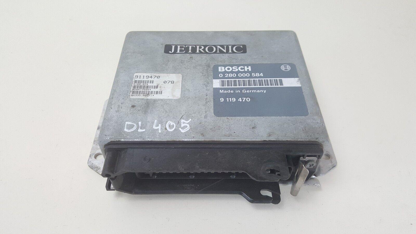 DL405 SAAB ENGINE CONTROL MODULE ECU 0280000584 / 9119470