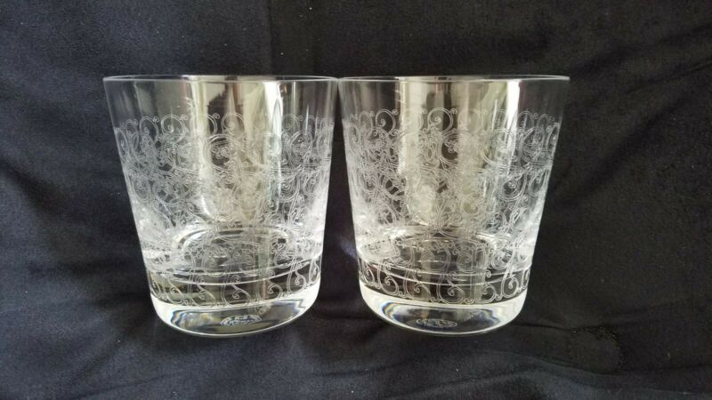Baccarat Etched Tumblers