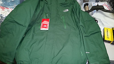 *Mens The North Face Condor Triclimate Jacket Nottingham Green NWT - North Face Condor Triclimate Jacket