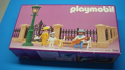 Playmobil 5360 Victorian Dollhouse Fence brand NEW in Box collectors geobra