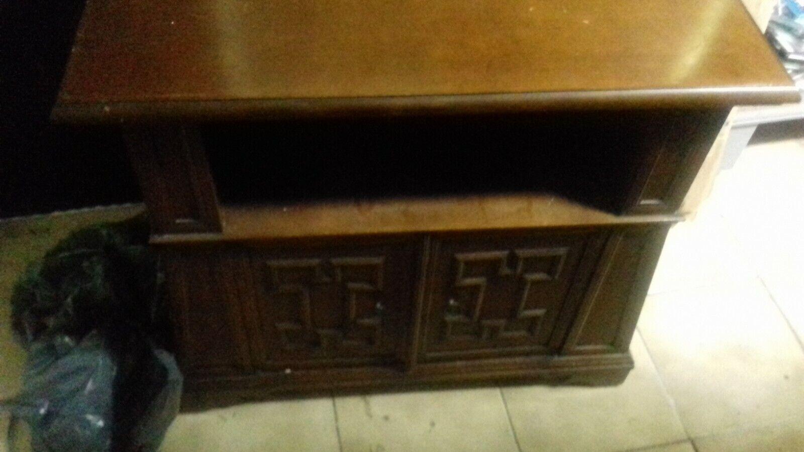 Antiek Houten kast 2 verdiepingen