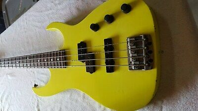 Ibanez Bass Guitar Made in Japan w/ Black Hard shell Case