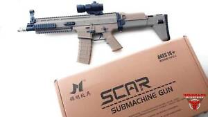 JM SCAR V2 Assault Rifle Gel Blaster Toy (Nerf) Gun