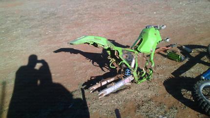 Wrecking kdx 200