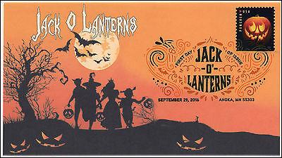ns, Halloween, Pumpkins, Digital Color Postmark, 16-291 (Digitale Briefmarken Halloween)