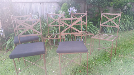 Garden,Patio Outdoor chairs  x 6. French provencial style