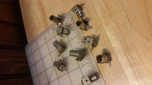 T3-1/4 Miniature Bayonet Base socket holder Lamp 4-40 screw mount 10 for $10