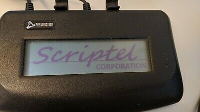 Scriptel St1501-pyj Scrip Touch Desktop Lcd Signature Pad Usb Pay Junction