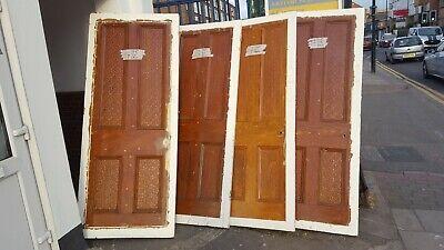 Internal victorian wooden doors 4OFF £20 EACH