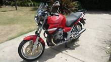 Red Moto Guzzi Breva 750 Shaft Drive with many extras Hahndorf Mount Barker Area Preview