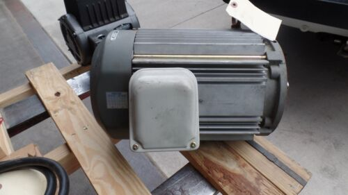 SUMITOMO SM-CYCLO 3 PHASE 10 HP INDUCTION MOTOR TYPE TK-F, F-132M 1740 RPM