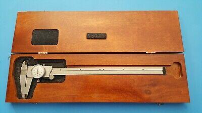 American Made Starrett 12 Inch Dial Caliper Model 120 Super Nice Tool