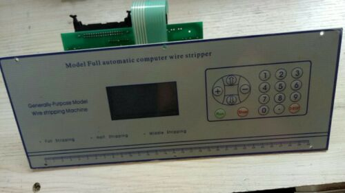 The Panel Board For Computer Wire Peeling Stripping Cutting Machine Swt508-sd