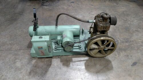 Quincy Model 310 Air Compressor with Motor and tank.