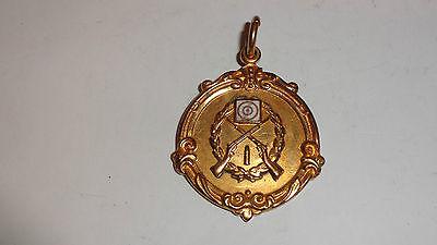 1945 Society of Miniature Rifles Club Gold Colour Medal Summer League Division 9