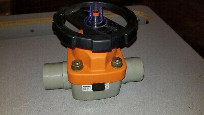 Georg Fischer 2 Diaphragm Valve Dn50 Gf Typ 315 Pn10 Pvc-c - New