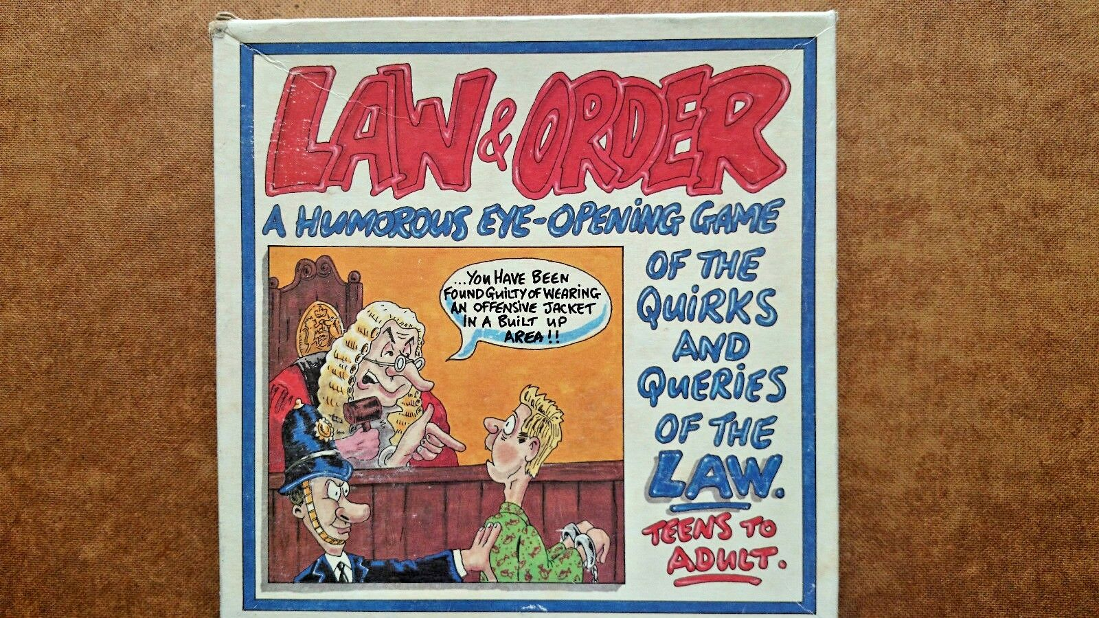 Law and Order Board Game  by BV Liesure