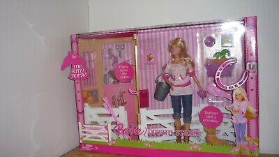 BARBIE Me & My HORSE Dream STABLE 2007 Accessories Barn Puppy Tawny DOLL NIB