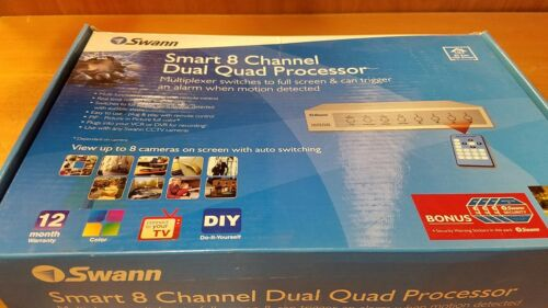 Swann Smart 8 channel dual quad processor
