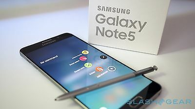 New In Box Samsung Galaxy Note 5 Sm N920t 32Gb Blue For T Mobile