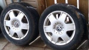 RIMS and Tires for wolsvagen jetta
