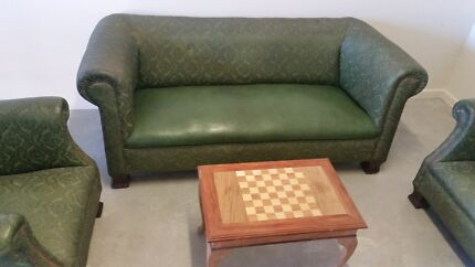 Antique chesterfield style lounge Fitzgibbon Brisbane North East Preview