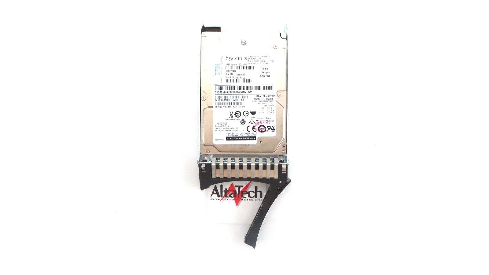 "NJYM3 9FU066-157 Dell Equallogic 146GB 15K 16MB 2.5/"" SAS Drive PN"