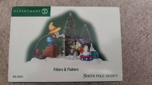 Department Dept 56 Fillers & Flakers 56855 North Pole Series