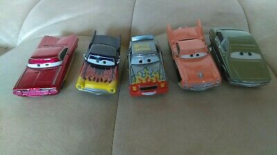 Disney Pixar Cars Diecast Lot of 5 Rare Hank Greta Ramone Darrell Patti 1:55