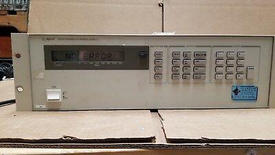Agilent 6621a System Dc Power Supply 5 Good