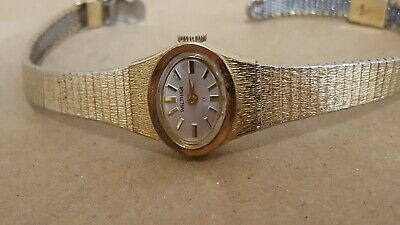 1950s Ladies WALTHAM 63 Cj232 17j Watch 10k RGP Gold Wristwatch Working Vintage